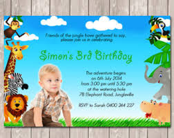 photo personalised wanted poster style birthday invitations
