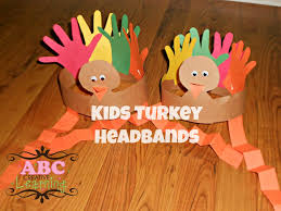 thanksgiving diy projects turkey headband craft for kids craft thanksgiving and headband