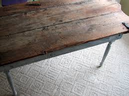Remodelaholic Old Barn Door Recycled Into Kitchen Table - Old kitchen tables