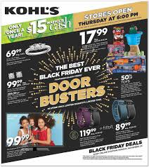 kohl s black friday ad 2015 money saving