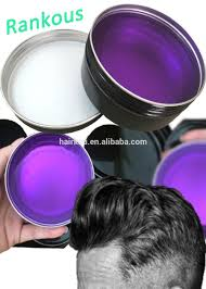 private label strong hold grape smell hair wax with snake oil men