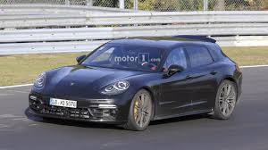 porsche panamera trunk 2018 porsche panamera sport turismo render is a sign of things to come
