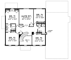 2 story colonial house plans colonial style house plans plan 7 649