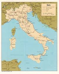 Italy On Map Italy Maps Perry Castañeda Map Collection Ut Library Online