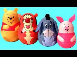 winnie pooh stacking cups surprise eggs tigger eeyore piglet