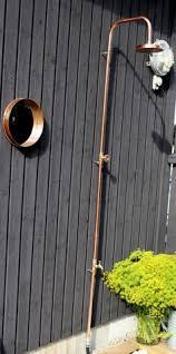 Outdoor Shower Head Copper - copper outdoor shower outdoor living