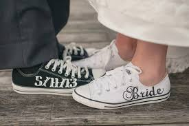 wedding shoes converse made to order groom wedding converse