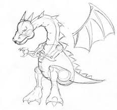how to draw a dragon drawing dragons