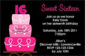 sweet 16 party invitation templates oxsvitation com