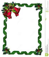 christmas bells page borders christmas border holly bells and