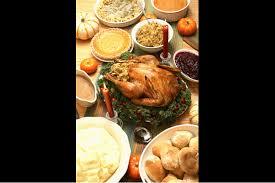 a list of restaurants open on thanksgiving day