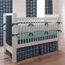 Nautical Baby Nursery Anchor Crib Bedding Baby And Kids