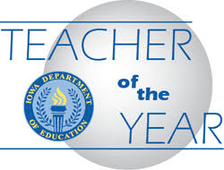 iowa teacher of the year toy iowa department of education