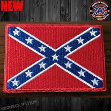Confederate Flag Pin Confederate Flag Velcro Patch Vhp 1