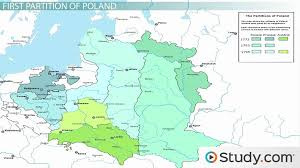 russia map before partition the partition of poland history timeline causes