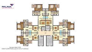 1bhk floor plan lodha palava codename riverside floor plan price of 1 2 3 bhk