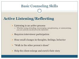 Counseling Interviewing Skills Counseling Skills For Recruitment Admissions