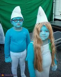 Smurfette Halloween Costume Halloween Costumes Siblings Cute Creepy