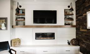 How To Update Brick Fireplace by A Modern Farmhouse Fireplace Update Emily Henderson