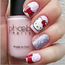 best 25 hello kitty nails ideas on pinterest kitty nails