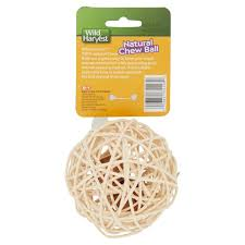 wild harvest chew ball for guinea pigs hamsters gerbils and
