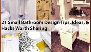 bathroom design tips 21 small bathroom design tips ideas hacks worth