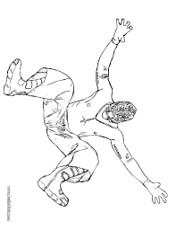 free coloring pages wwe coloring pages