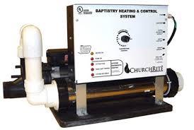 baptistry heater baptistry heaters