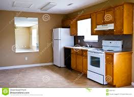 compact kitchen small house stock image image 6002181