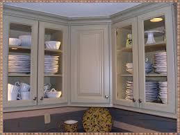 Kitchen Corner Cabinet Hinges White Cabinet With Glass Doors Usashare Us