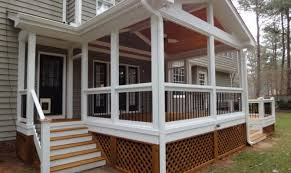 house plans with screened porches stunning screened in deck designs ideas house plans 64913