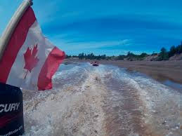 Picture Of Nova Scotia Flag Tidal Bore Rafting Nova Scotia The Most Extreme Tides In The World