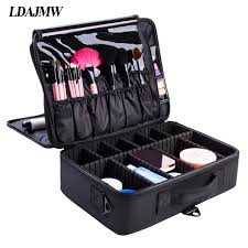 makeup artist box ldajmw portable cosmetic storage box travel professional makeup
