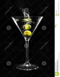 martini green martini glass stock photo image of reflection modern 54361494