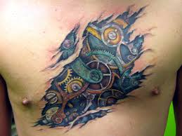 gears tattoo picture
