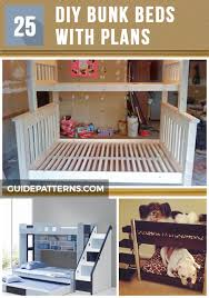 Wood Plans Bunk Bed by 25 Diy Bunk Beds With Plans Guide Patterns