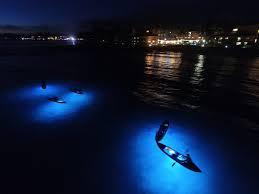 kayak lights for night paddling moonlight glass bottom kauai kayak tours kauai vacation tours