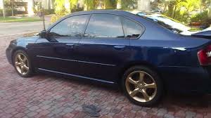 subaru legacy gt gold rims youtube