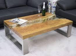 Wohnzimmertisch Jumbo Niedriger Couchtisch Holz Design Design