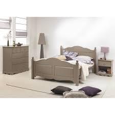 chambre a coucher taupe chambre taupe lit 140 commode chevet beaux meubles pas chers