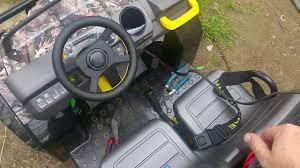 gator power wheels battery mod for the peg perego john deere gator youtube
