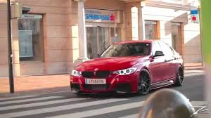red bmw red bmw f30 youtube