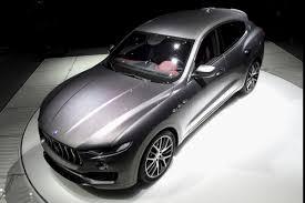 maserati white price maserati levante debuts with up to 424 hp 76 000 base price in