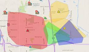 Power Outage Map New York by Power Outage Abc7chicagocom Best 25 Power Outage Map Ideas On