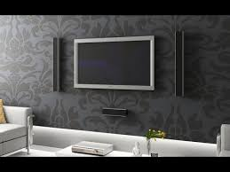 Interior Decoration For Tv Wall Tv Wall Mount Stand Decoration Ideas Youtube