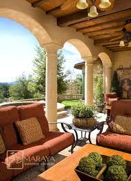 Italian Patio Design Italian Tuscan Loggia Mediterranean Patio Santa Collegeisnext