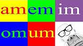 imagenes que empiecen con la letra am aprender a leer las sílabas am em im om um the syllables am