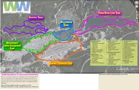 Map Of Yukon 5 City Centre Loop Trails Whitehorse Yukon