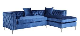 Blue Sectional With Chaise Modern Sectional Sofas At Contemporary Furniture Warehouse