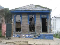 Frame House File 8th Ward Blue Frame House Villere Street New Orleans Jpg